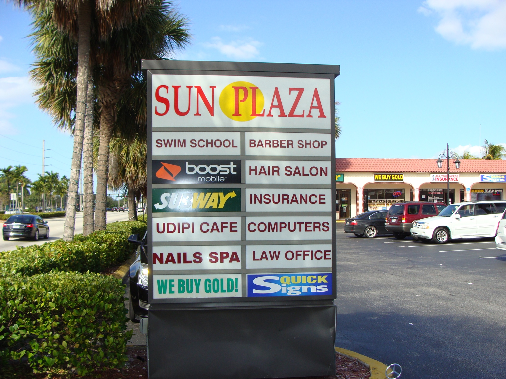 Sun Plaza 2074 N. University Drive, Sunrise, FL 33322